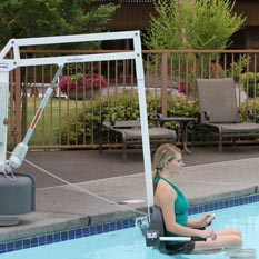 ADA Compliant Pool and Spa Lifts